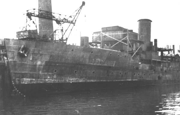 Image result for german destroyer under construction