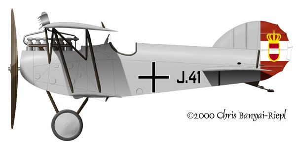 Austro Hungarian Empire Aircraft Markings